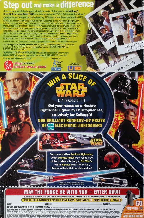 2005 Ricicles Star Wars Light Sabre competition