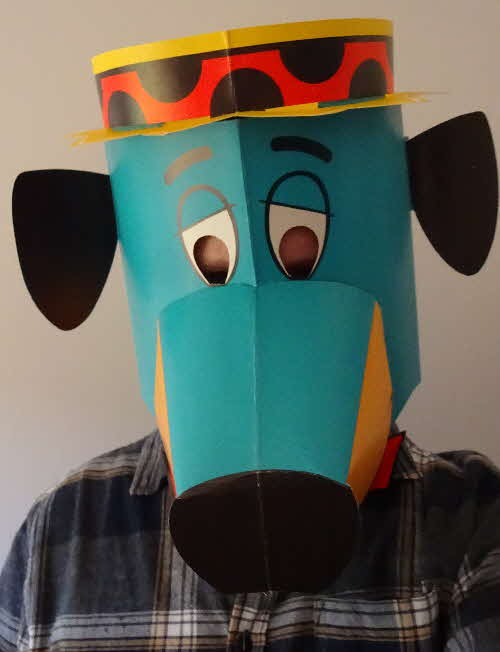 1964 Coco Pops Huckleberry Hound Mask (10)