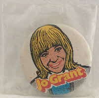 1971 Sugar Smacks Dr Who Badges Jo Grant