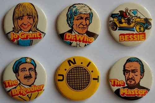 1971 Sugar Smacks Dr Who badges back1