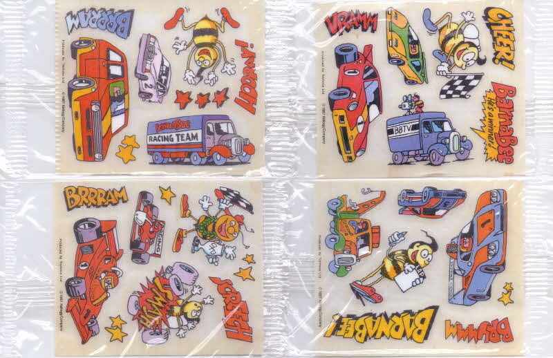 1987 Honey Smacks Barnabee transfers