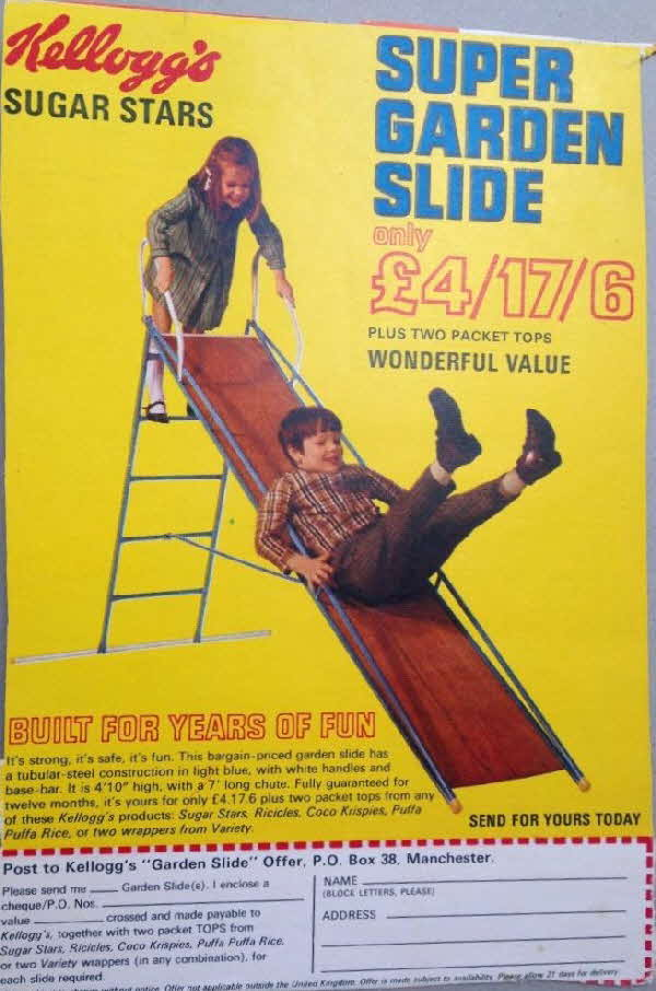 1968 All Stars Super Garden Slide