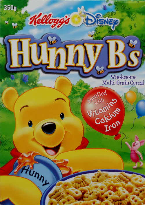 2002 Hunny Bs New cereal front