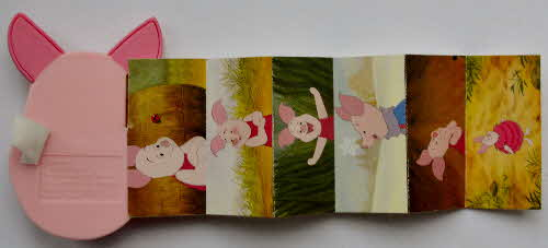 2003 Rice Krispies Piglet the Movie Bookmarks - Piglet