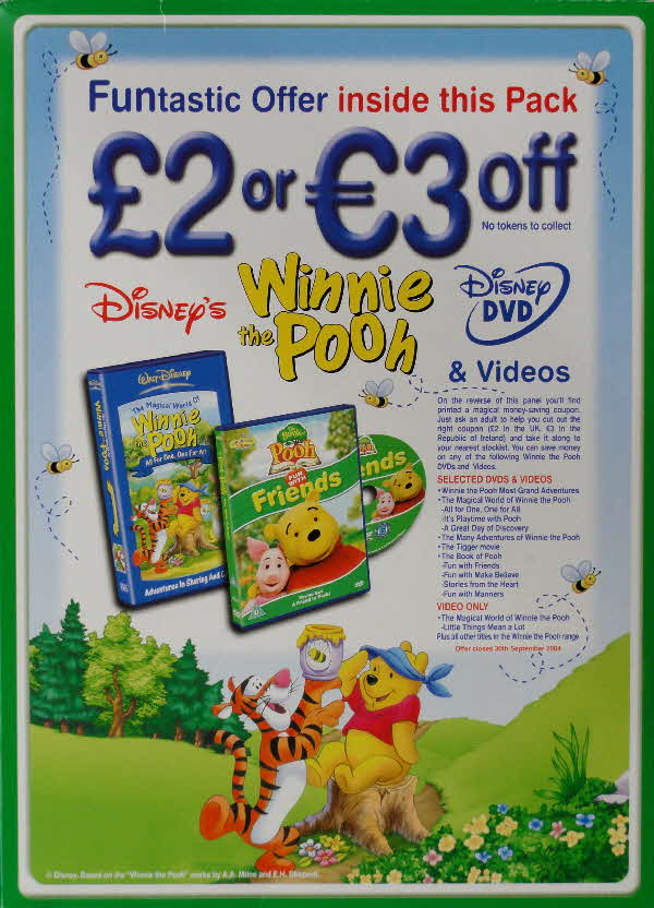2004 Hunny Bs £2 DVD discount