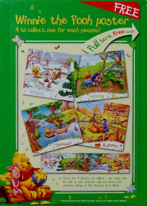 2003 Hunny Bs Winnie the Pooh Poster