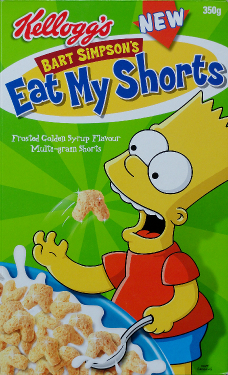 2003 Bart Simpsons Eat My Shorta New front