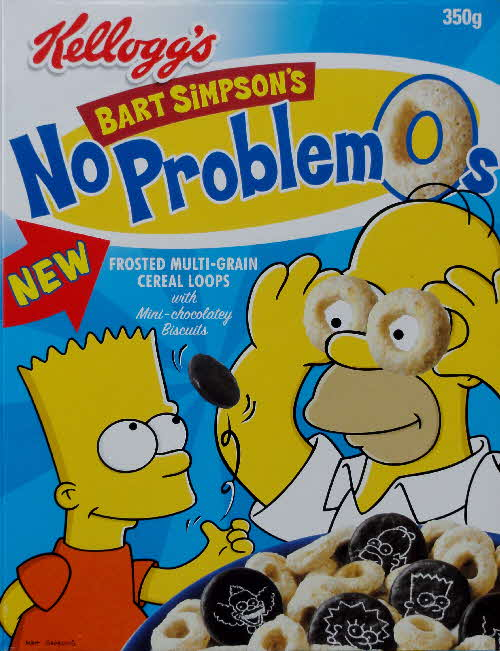 2002 Bart Simpsons No Problemos New front