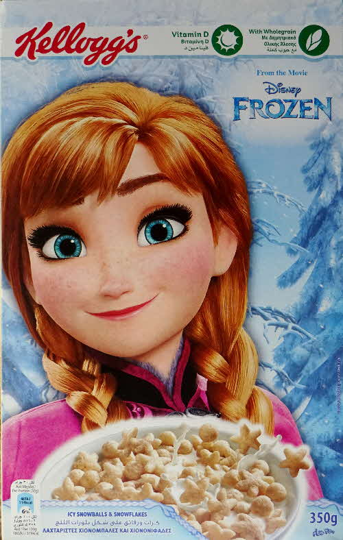 2016 Kelloggs Frozen Elsa packet (1)