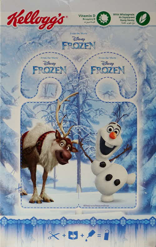 2016 Kelloggs Frozen Elsa packet (2)