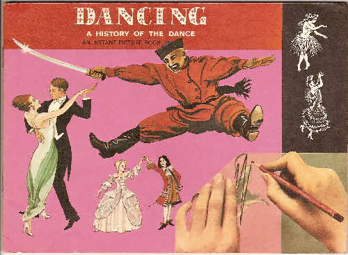 1970 Ricicles Instant Picture Book Dancing