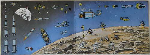 1970 Ricicles Instant Picture Book Outer Space inside