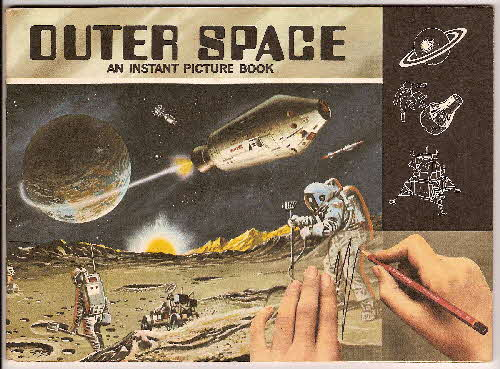 1970 Ricicles Instant Picture Book Outer Space
