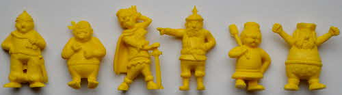 1974 Coco Krispies Model Pirates - yellow