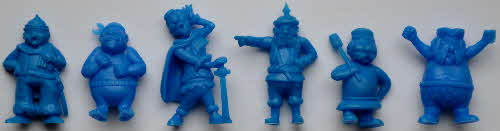 1974 Coco Krispies R&L Model Pirates - blue