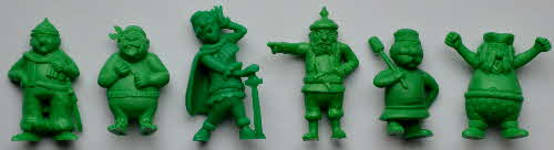 1974 Coco Krispies R&L Model Pirates - green