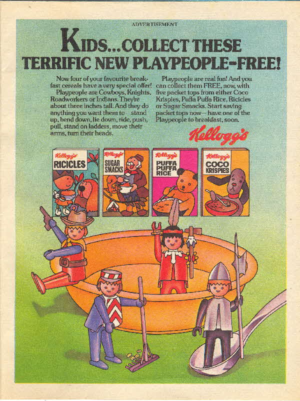 1976 Coco Pops Playpeople set