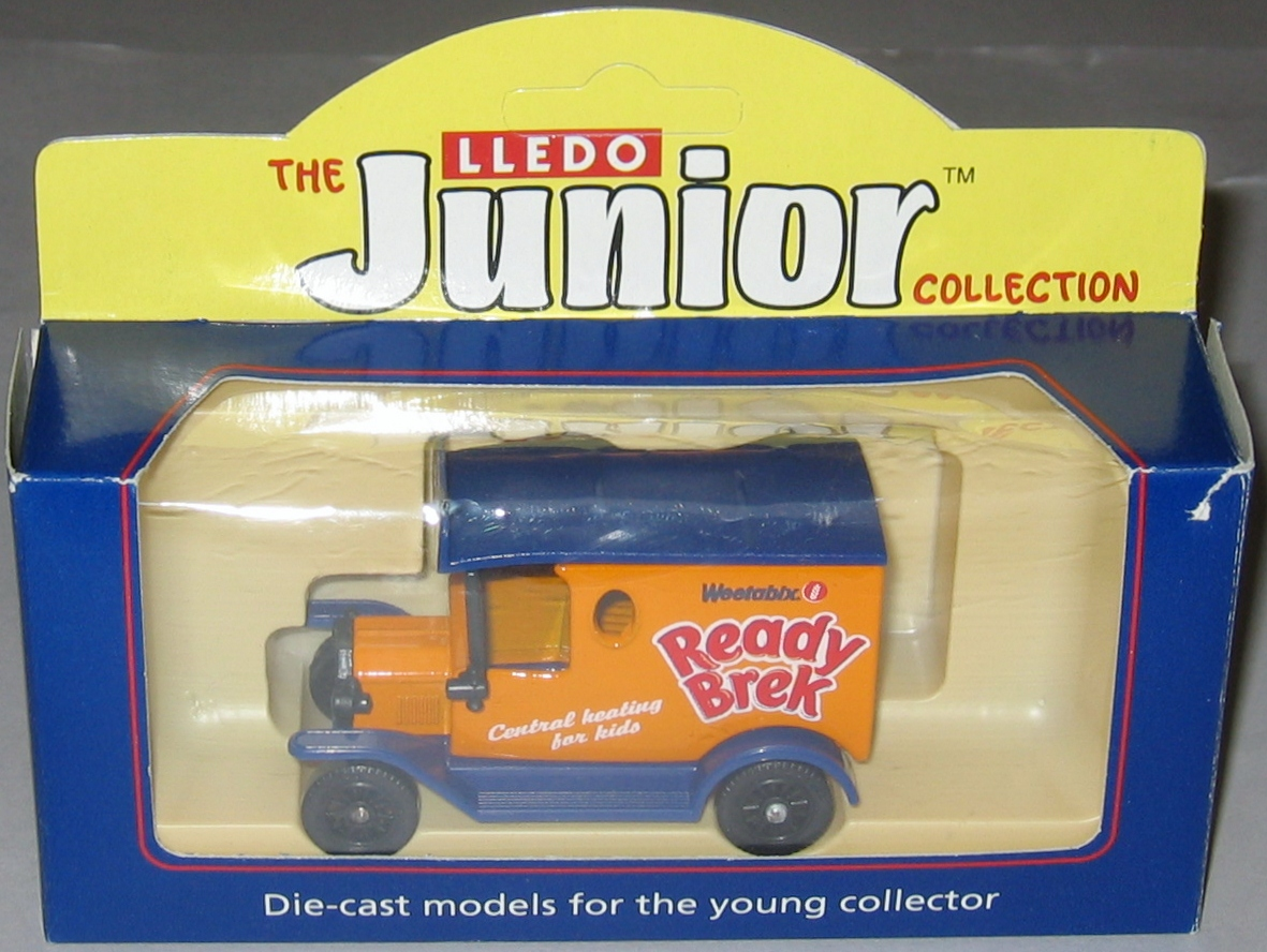 Lledo Junior Ready Brek van