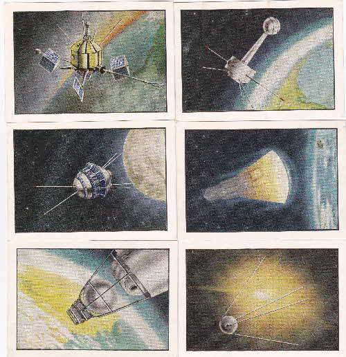 1963 Quaker Oat Krunchies Space Cards 1