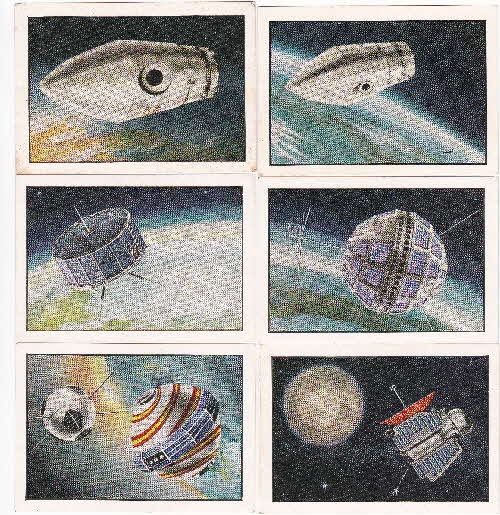 1963 Quaker Oat Krunchies Space Cards 2