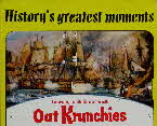 1967 Oat Krunchies History's Greatest Moments 1 - Battle of Tra