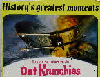 1967 Oat Krunchies History's Greatest Moments 2 - Zeppelin Atta