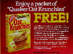 1985 Oat Krunchies Free packer1