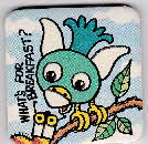1990 Quaker Oat Krunchies Hidden Squirrel Badge (2)