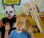 1992 Oat Krunchies Animal Masks1
