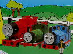 1995 Oat Krunchies Thomas the Tank Engine Models back1