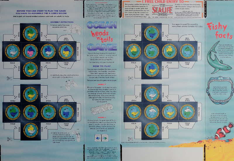 1996 Oat Krunchies Sealife games inside (3)