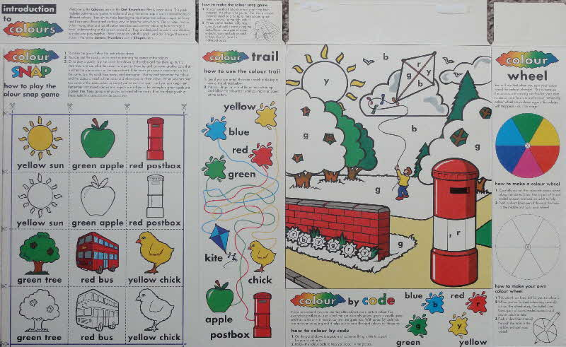 1997 Oat Krunchies Play & Learn inside (1)