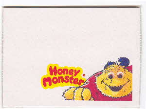1990s Sugar Puffs Honey Monster Post-it note1