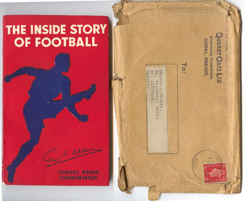 1938 Quaker Oats Inside Football book