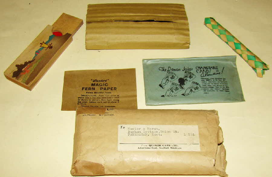 1935 Quaker Oats Master Magic Send away items (1)