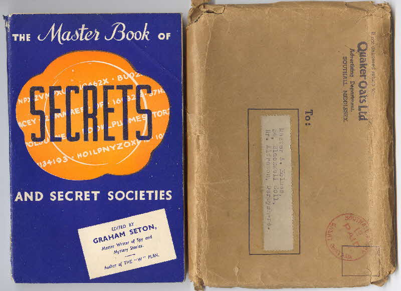 1937 Quaker Oats Master Book of Secrets