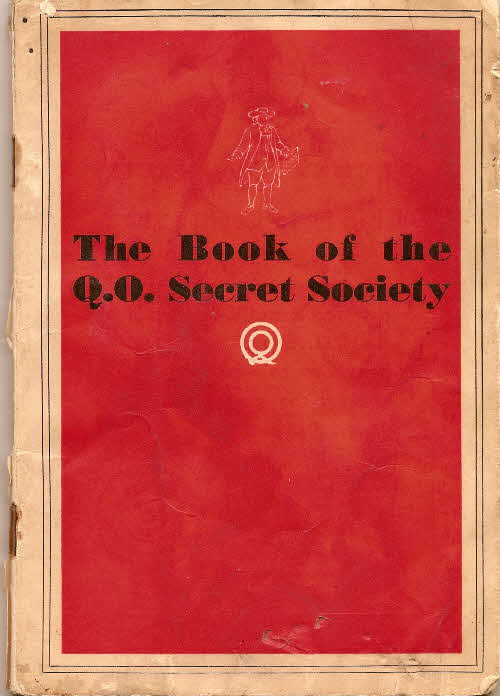 1930s Quaker Oats Book of Secret Society (1)