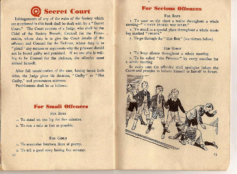 1930s Quaker Oats Book of Secret Society (14)