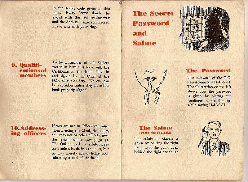 1930s Quaker Oats Book of Secret Society (5)