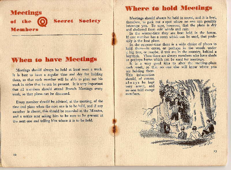 1930s Quaker Oats Book of Secret Society (9)