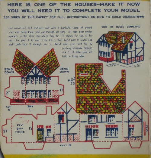 1936 Quaker Puffed Wheat Quakertown - House (5)