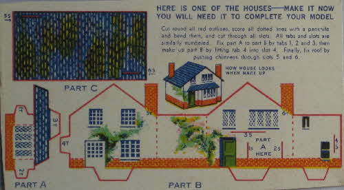 1936 Quaker Puffed Wheat Quakertown - House (8)