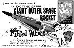 1959 Quaker Oats Outer Space Rocket