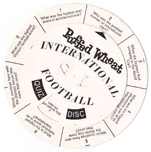 1962 Puffed Wheat Quiz Discs (1)