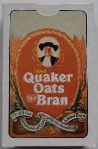 1980s Quaker Oat Bran Playing Cards