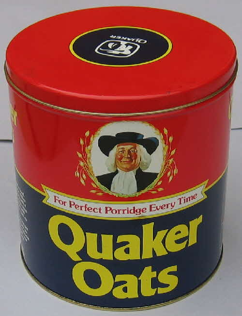 1983 Quaker Oats Storage Tin