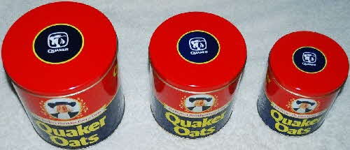 1983 Quaker Oats Tin Set (1)