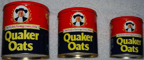 1983 Quaker Oats Tin Set (2)