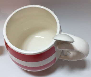 Oat So Simple Cuppa Porridge Mug & Spoon red (1)