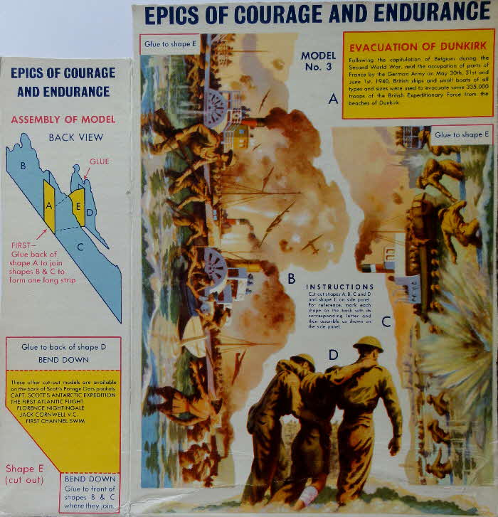 1950s Scots Oats Epics of Courage and Endurance No 3 Dunkirk